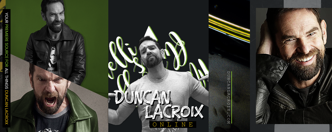 Hello & Welcome To Duncan Lacroix Online